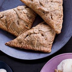 """Apple Rye Turnovers with Celery Seeds 