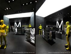 UM mens underwear store AS Design Shenzen 03 UM mens underwear store by AS Design, Shenzhen