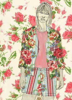 flowersuit by Sarah Walton, via Flickr