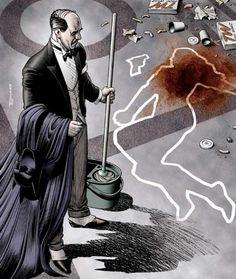 Alfred Pennyworth by Brian Bolland