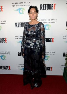 The post Hot! or Hmmm: Tracee Ellis Ross'  Refugee  Premiere's SUNO Fall 2016 Floral Navy Dress appeared first on Fashion Bomb Daily Style Magazine: Celebrity Fashion, Fashion News, What To Wear, Runw