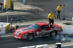 Bryan Worner's 1990 Chevrolet Camaro running Super Stock at the #NHRA Fourwide Nationals 2014   www.powerpacknation.com