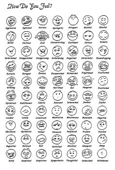 emotion smiley faces - Google Search