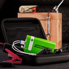 This lithium-ion powerhouse can hold a charge for up to 6 months. Va va va voom!