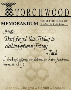 Torchwood :) too much Ianto/Jack feelings right now T_T