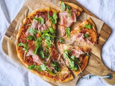 Kvásková pizza - Zo srdca do hrnca Pitta, Ciabatta, Vegetable Pizza, Food And Drink, Bread, Vegetables, Brot, Vegetable Recipes, Baking