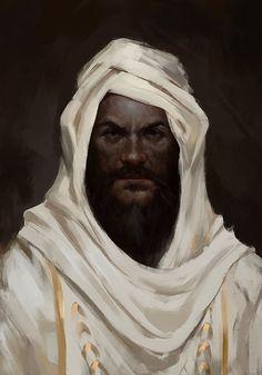 The old Sheik by MarkoTheSketchGuy.deviantart.com on @DeviantArt