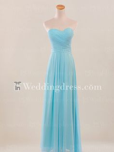 Look for your perfect beach or destination wedding dress at InWeddingDress! We have a wide selection available at affordable prices with fast AU shipping! Discount Bridesmaid Dresses, Light Blue Bridesmaid Dresses, Beach Bridesmaid Dresses, Bridal Party Dresses, Blue Bridesmaids, Wedding Dresses, Strapless Dress Formal, Wedding 2015, Spring Wedding