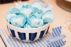Ideia para chá #menino #azul #inspiraçao