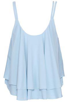 light blue cami