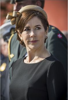 Prince Frederik and Princess Mary participate in several events in honor of Flag Day which honors the dead Danish soldiers.