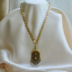 A Few Gold Coins / One of a Kind Assemblage Necklace with