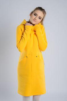 Yellow Dress. Casual Warm Yellow Dress 'Lola'. Yellow by Adatyte
