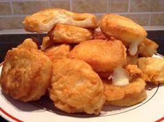 Mπουκίτσες τυριού !!! Greek Recipes, Light Recipes, Mediterranean Recipes, Cauliflower, Food To Make, Fries, Recipies, Brunch, Food And Drink