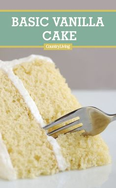 This moist single-layer vanilla cake has a delicate texture and delectable crumb, but it's the old-fashioned browned-butter glaze that gives it a nutty flavor. #cakerecipes