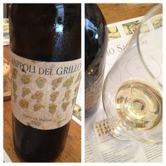 #Grappolidelgrillo 2001: 12 anni e non sentirli! @marcodebartoli #fuoriclasse #wine #winelovers #sicily