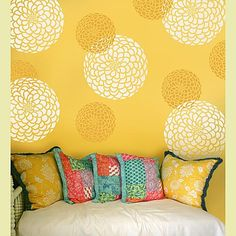 What a great stenciling idea!