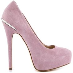 Create utter perfection to any outfit with the Carrie. This pretty ShoeMint pump delivers a soft lavender suede highlighted by a small metallic detail on the 5…