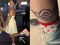 melanie-martinez-angel-leg-tattoo