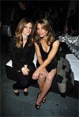 Jillian Michaels and Heidi Rhodes    btw - Congrats to the new mommies!