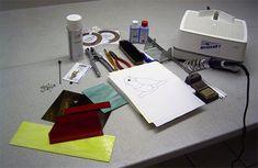 Tiffany-Anleitung | Teil 1 Arbeitsmaterial | Glas Design Schäfers