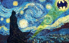 Starry Night Batman
