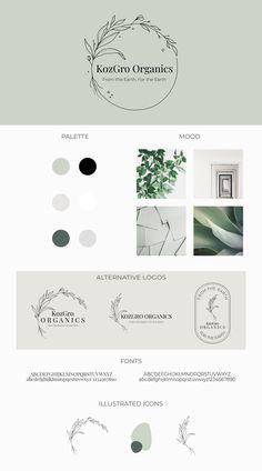 Business Logo Design, Brand Identity Design, Corporate Design, Branding Design, Organic Logo, Organic Brand, Plant Logos, Web Design, Marca Personal
