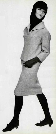 Yves Saint Laurent Wool Ensemble, 1963-64