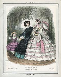August, 1860 - Le Bon Ton