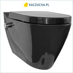 Jedno urządzenie Mineral Black łączy w sobie zalety bidetu i miski wc jest to świetne rozwiązanie jeśli chcesz zadbać o higienę a nie masz miejsca w łazience na bidet. Modny, czarny kolor oraz oryginalny kształt doda wnętrzu łazienki ciekawy charakter. Cena: 2 599 zł Bathtub, Canning, Design, Standing Bath, Bathtubs, Bath Tube, Home Canning, Bath Tub