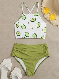 Swimsuits For Tweens, Bathing Suits For Teens, Bikinis For Teens, Cute Bathing Suits, Cute Swimsuits, Cute Comfy Outfits, Cute Girl Outfits, Cute Summer Outfits, Cool Outfits