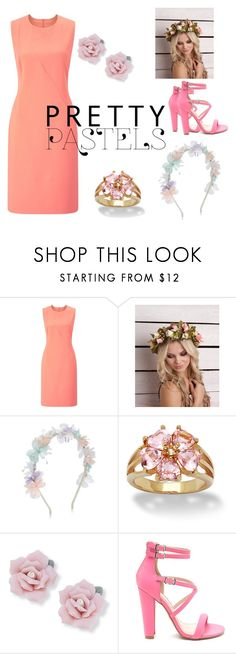 """""""I'm so pastel"""" by chamberskameron ❤ liked on Polyvore featuring beauty, Finesse, Monsoon and Palm Beach Jewelry"""