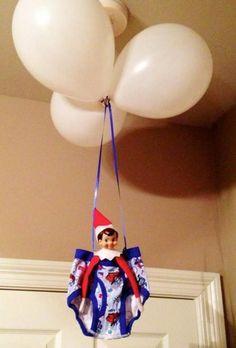 Elf balloon ride