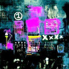 'Blurred Chaos' Art