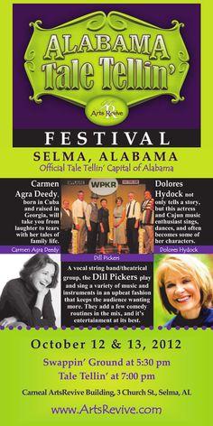 Alabama Tale Tellin' Festival this weekend