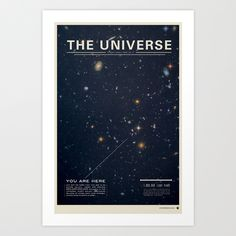 The Universe Art Print by Mike Gottschalk | Society6