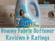 Downy fabric softener reviews and rating from real people {on Stain Removal 101}