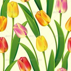 Realistic Graphic DOWNLOAD (.ai, .psd) :: http://jquery.re/pinterest-itmid-1004603008i.html ... Seamless from Tulips ...  background, beauty, bright, bud, bunch, effortless, floral, flower, graphic, green, leaf, nature, ornament, pattern, red, repetition, rosebud, seamless, season, spring, texture, tulip, vector, wallpaper, yellow  ... Realistic Photo Graphic Print Obejct Business Web Elements Illustration Design Templates ... DOWNLOAD :: http://jquery.re/pinterest-itmid-1004603008i.html