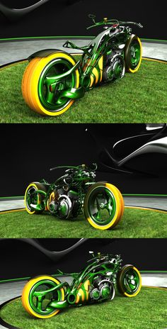 Most Awesome Concept Bikes