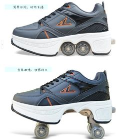 Unger Lute Amphibious Rollerblading Skates Deformation Of Roller Skates Shoes Heelys Four Wheel Double Row Of Men And Women From Missqueen, $104.72 | Dhgate.Com