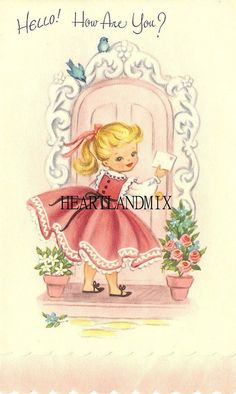 vintage cuteness Vintage Halloween Postcard Cottage and garden vintage embroidery Cute Vintage Embroidery Designs Vintage Halloween Card Images Vintage, Vintage Pictures, Vintage Greeting Cards, Vintage Postcards, Vintage Ephemera, Art Carte, Old Cards, Vintage Birthday, Vintage Valentines