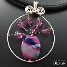 Wire Vase Pendant Tutorial | AllFreeJewelryMaking.com