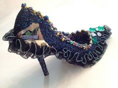 Krewe of Muses' Decorated Shoes