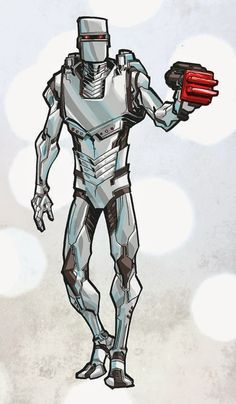 Whiskey Mech: ROM the spaceknight - by Andy Macdonald - great stuff! Comic Book Characters, Marvel Characters, Comic Books Art, Comic Art, Book Art, Andy Macdonald, Space Knight, Chaos Lord, Marvel Comics Art