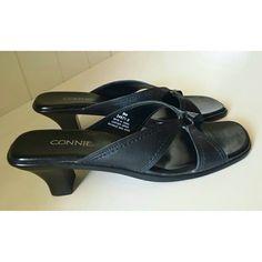 Connie Sandals Basic Sandals with a little heel.  Size 8m Connie  Shoes Sandals