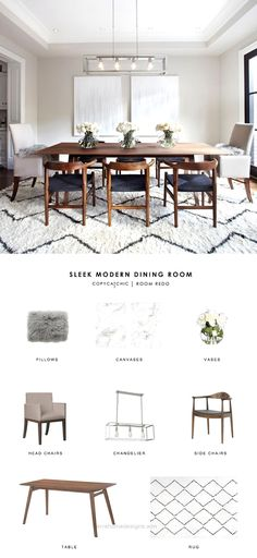 This gray transitional dining room by the Design Co gets recreated for less by copycatchic luxe living for less budget home decor and design modern Copy Cat Chic Room Redo Interior Design Living Room, Living Room Decor, Decor Room, Luxury Kitchen Design, Dining Room Inspiration, Transitional Decor, Transitional Dining Rooms, Transitional Chandeliers, Suites