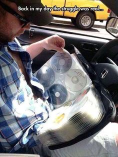 Days of CD Players #Car, #CD, #Funny, #Real, #Struggle