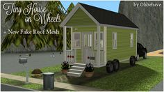 Ohbehave's Junk Trunk: Tiny House on Wheels, Fake Roof, and Harper Jones