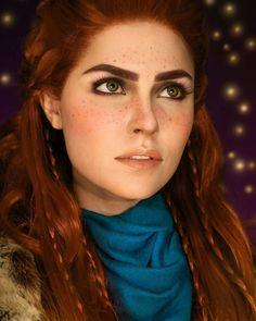 Ilona Bugaeva cosplay - Aloy - Nora Brave - Horizon Zero Dawn