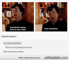 If there was ever a Sherlock screenshot to best describe my life, this would be it. Hands down.